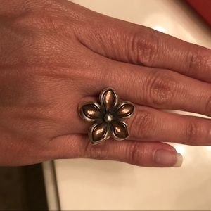 Jame savers retired flower petal ring